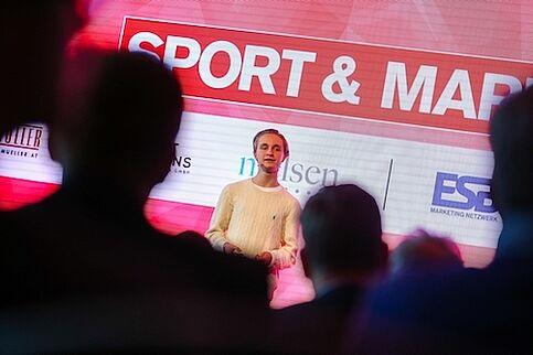 Vortrag beim Kongress für Sport & Marke