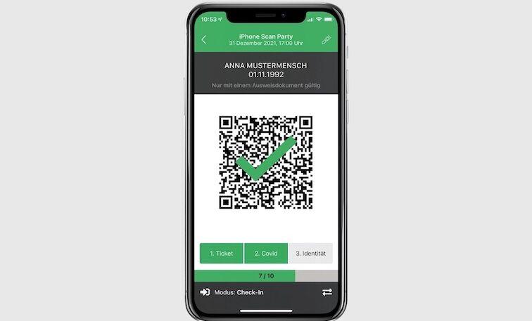 Bild-CheckIn-App