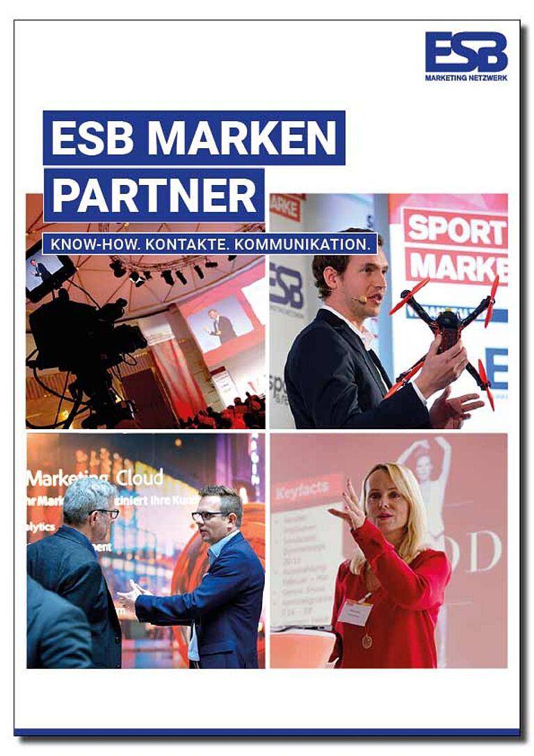 Markenpartner Titelbild von Broschuere